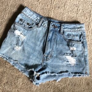BDG Distressed Shorts - Size 26